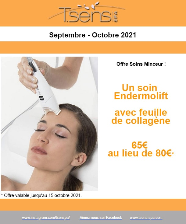 Offre Tsens Massage 2021